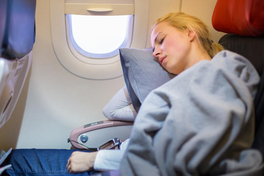 Accessoires pour dormir en avion