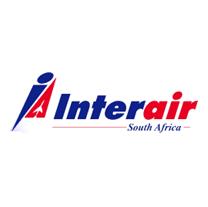 Réserver un billet d'avion Interair South Africa par téléphone