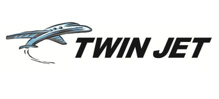 Réserver un billet d'avion Twin Jet