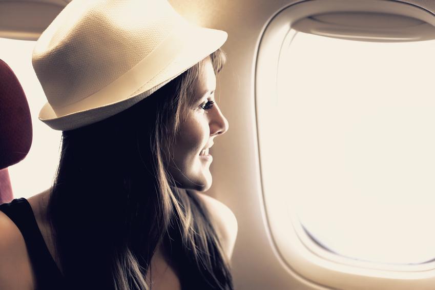 Comment rester belle et fraîche en avion ?