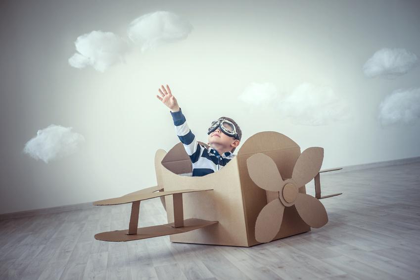 Enfant mineur seul dans l'avion