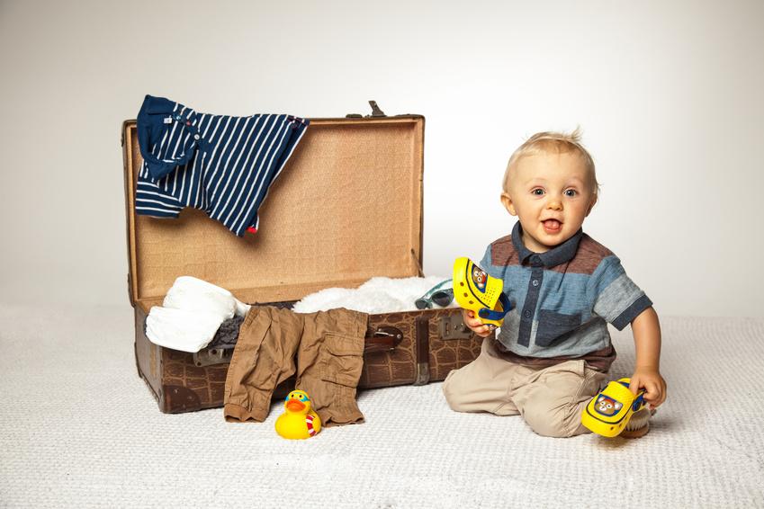 Quelle est la réglementation concernant les bagages enfants ?