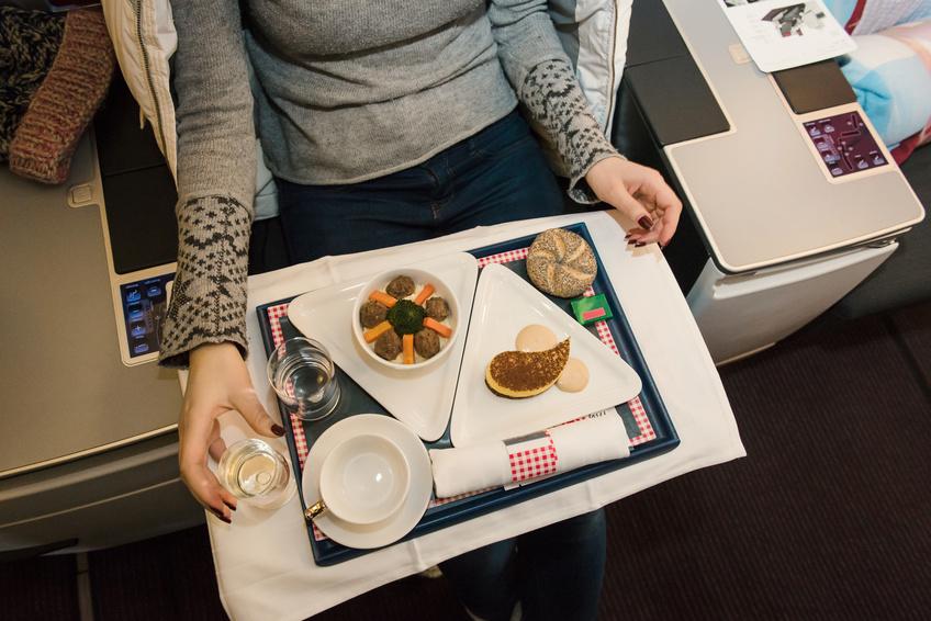 Découvrez les repas à la carte Air France