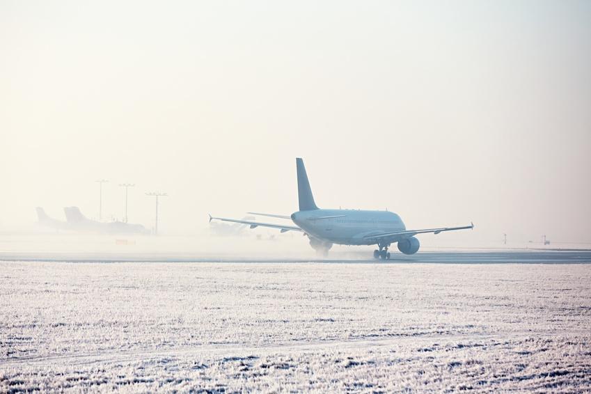 Vol annulé pour cause de neige