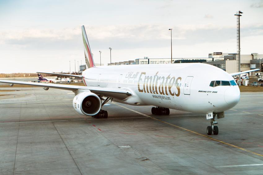 Prendre l'avion avec la compagnie Emirates